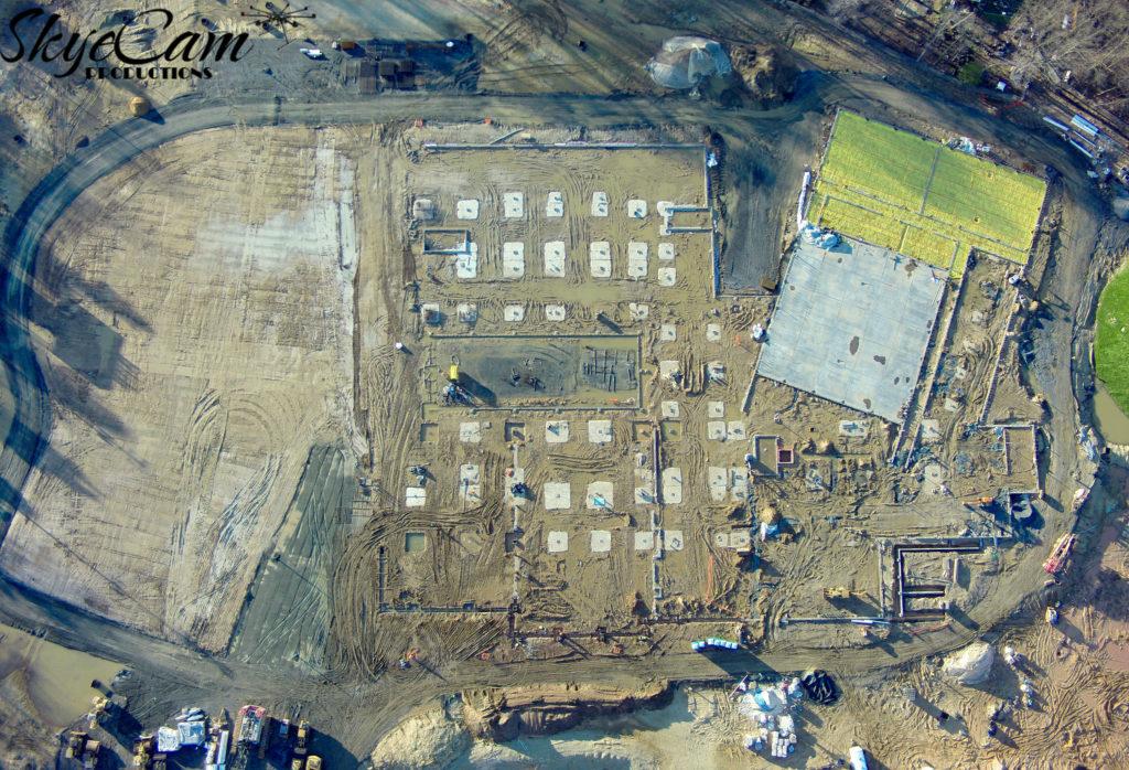 Construction Aerial Progress Photos