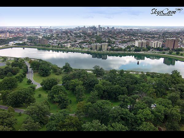 Druid Hill Park Drone, Baltimore, MD